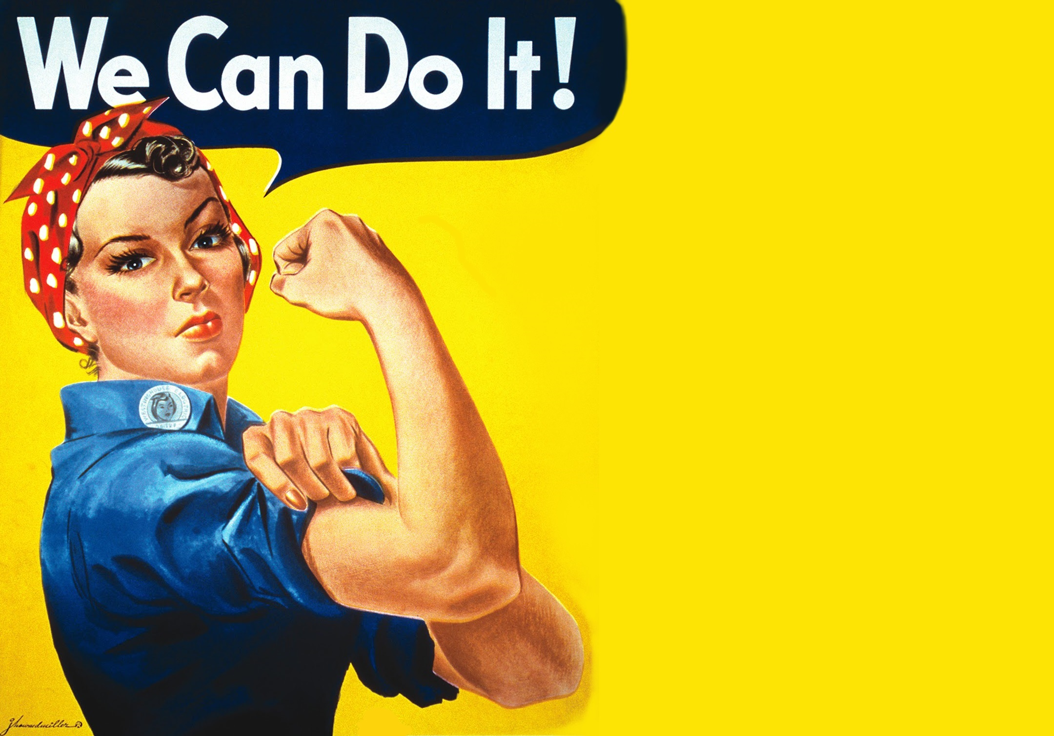 We Can Do It Rosie The Riveter Wallpaper 2