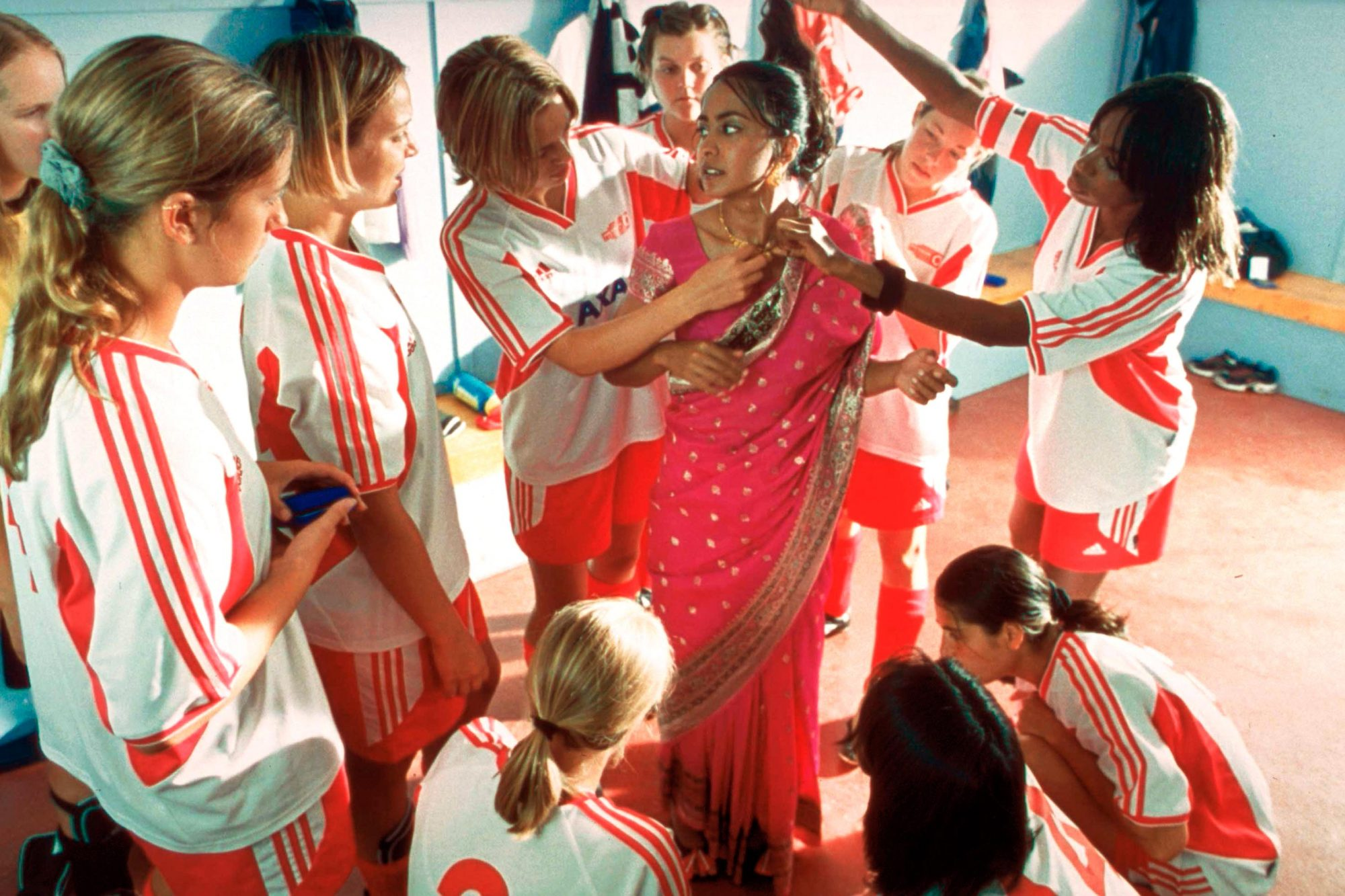 "Still from film ""Bend it Like Beckham."""
