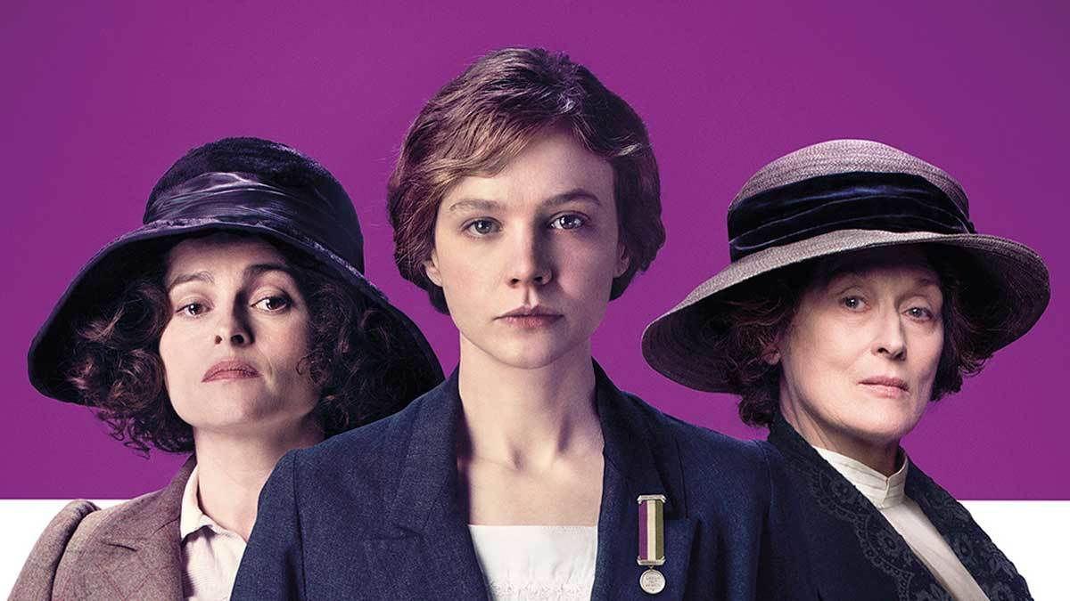"Image from ""Suffragette"" film"